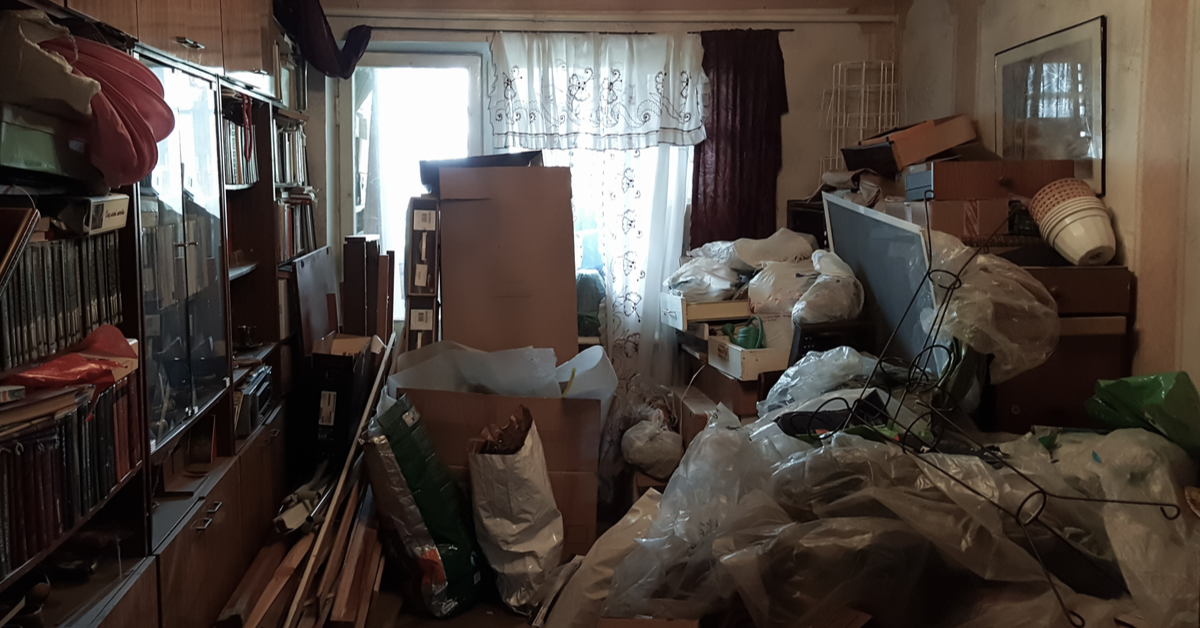 Home Cleanout That Would Require A Dumpster Rental Service